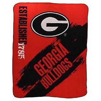 Georgia Bulldogs NCAA Northwest Fleece Throw