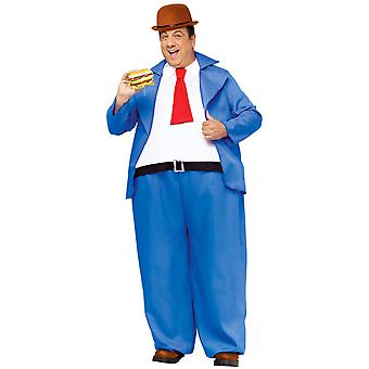 Wimpy J Wellington Popeye Cartoon Men Costume OS
