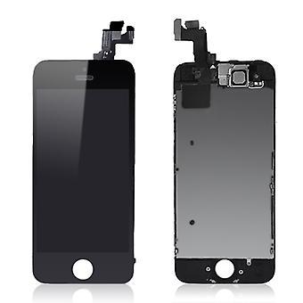 Para iPhone 5S Tela LCD completa - Preto - Qualidade Premium   iParts4u