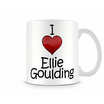 Я люблю Элли Гулдинг печатных кружка