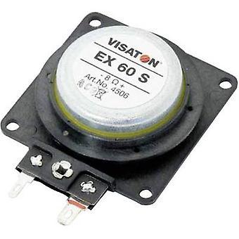 Visaton EX 60 S-kaiutin 25 W 8 Ω 1 kpl (s)