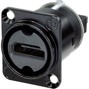 ناهدمي Neutrik-ث-ب HDMI موصل الأكمام مأخذ، مستقيم دبابيس عدد دبابيس: 19 1 الأسود pc(s)