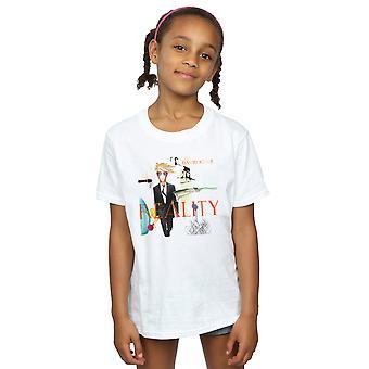 デヴィッド ・ ボウイの女の子現実アルバム カバー t シャツ