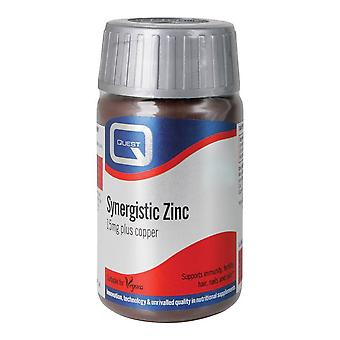 Quest Synergistic Zinc, 90 tablets