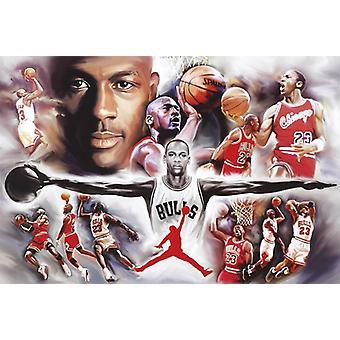 Poster de Michael Jordan collage 61 x 91.5 cm