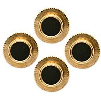 David Van Hagen Round Dress Studs - Black