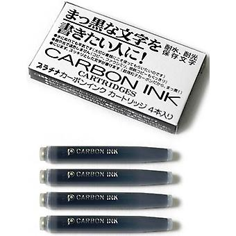 Platinum Carbon Ink Cartridges 4 Pack - Black