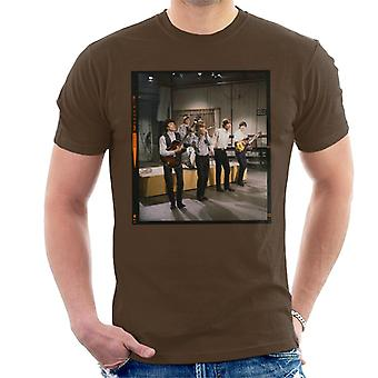 TV tider Rolling Stones TV prestanda 1963 mäns T-Shirt