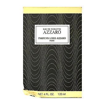 Azzaro Azzaro Eau de Toilette Splash 4.0 oz/120ml laatikossa (vaurioitunut laatikko)