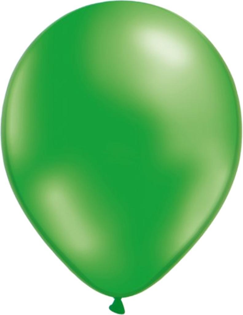 Mix ballonger 12-pack Grön metallic/Pärlemovit