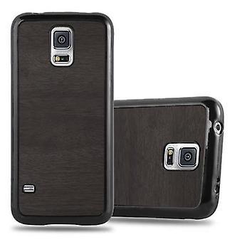Cadorabo Hülle für Samsung Galaxy S5 / S5 NEO Case Cover - Handyhülle aus flexiblem TPU Silikon – Silikonhülle Schutzhülle Ultra Slim Soft Back Cover Case Bumper