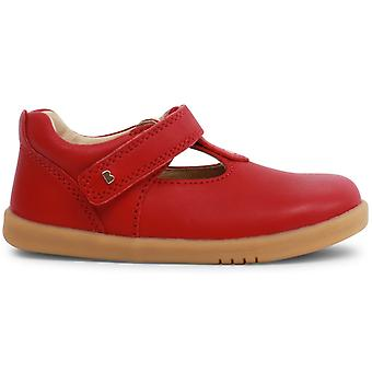 Bobux-walk filles Louise T-bar chaussures Rio Red