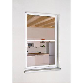Fenêtre d'aluminium Kit XL 130 x 220 anthracite cm - parfait pour un balcon Français - de voler