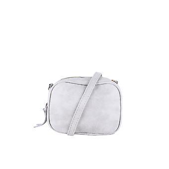Lovemystyle Small Faux Cross Body Bag In Grey