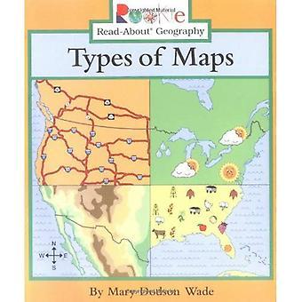 Typer av kartor (Rookie läsa-om geografi)