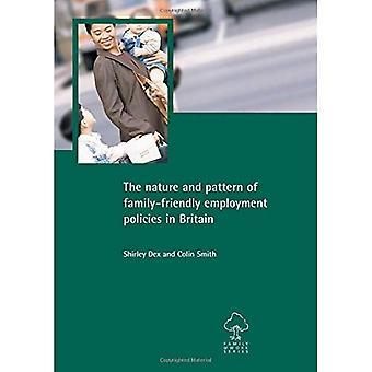 Natur und Muster der familienfreundlichen Beschäftigungspolitik in Großbritannien