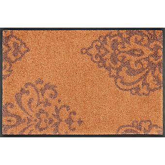 lavar + secar mat alfombra de cobre suciedad lavable de Lucia