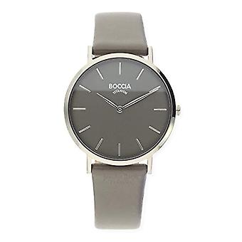 Boccia ladies Quartz analogue watch with leather strap 3273-01