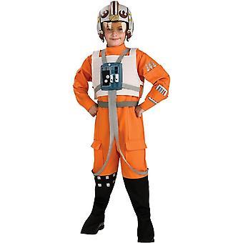 Star Wars Xwing Pilot barn kostume