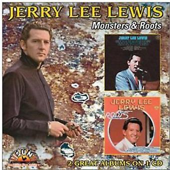 Jerry Lee Lewis - Monsters/Roots [CD] USA import