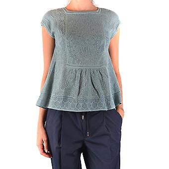 Missoni Ezbc091013 Dames's lichtblauwe nylon blouse