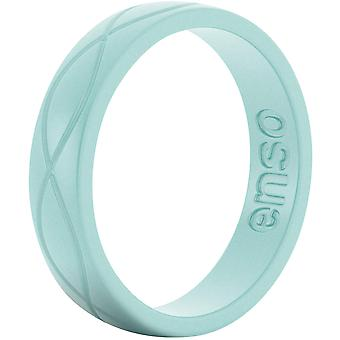 ENSO sonne Infinity féminin série anneau Silicone - Turquoise