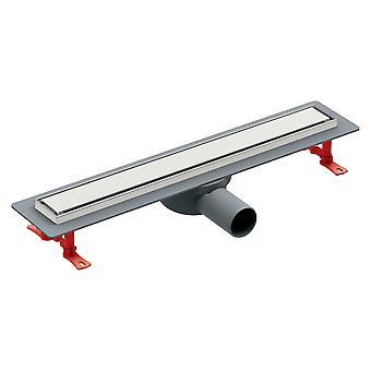 500/600/800 mm Long Walk-in de Wetroom linéaire douche Channel Drain de plancher