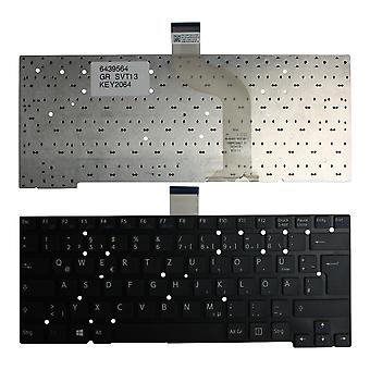Sony Vaio SVT13128CXS sort Windows 8 tyske Layout udskiftning bærbar tastatur