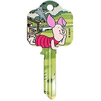 Winnie The Pooh Piglet clave de puerta