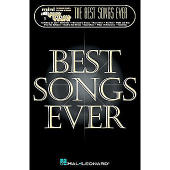 The Best Songs Ever - Mini E-Z Play Today - Volume 1 by Hal Leonard Co