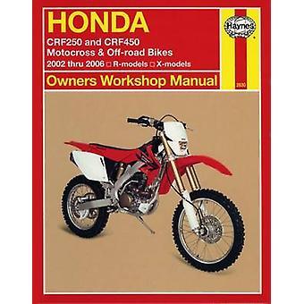 Honda Crf250 & Crf450 (02 - 06) by Ken Freund - 9781563926303 Book