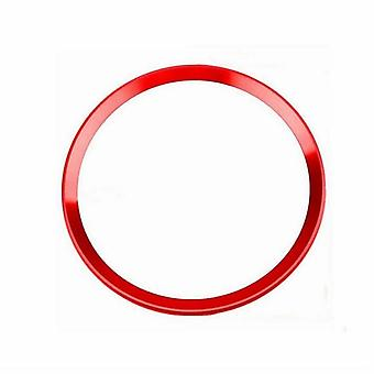 Decorative ring for steering wheel, Audi red