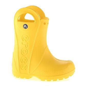 Crocs håndtere regn Boot børn gul 12803730 universal børnesko helårs