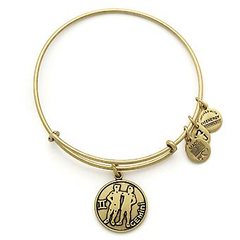 Alex and Ani Gemini Gold Bangle A13EB01GERG