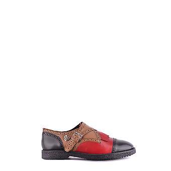 Armani Jeans Ezbc039073 Männer's Multicolor Leder Mönch Strap Schuhe