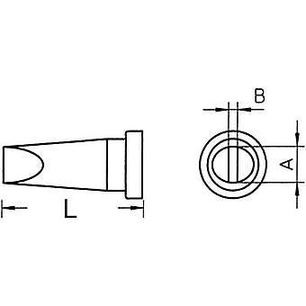 Weller LT-H Soldering tip Chisel-shaped, straight Tip size 0.8 mm Content 1 pc (s) Weller LT-H S