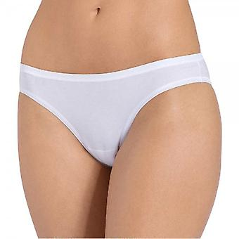Sloggi Women EverNew Mini Brief, White, Size 12