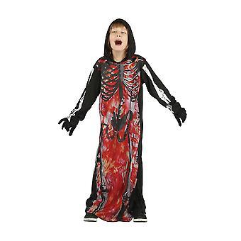Bristol Novelty Childrens/Kids Skeleton Demon Costume