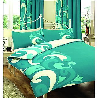 Grandeur Printed Duvet Cover Floral Bedding Set All Sizes