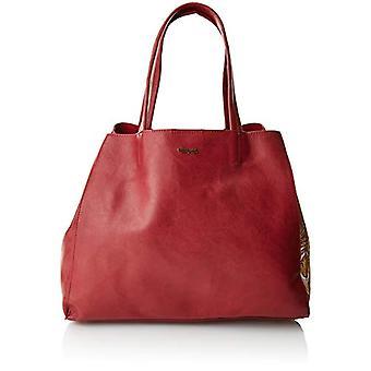 Desigual Bols_red Cuenca - Red Donna Shoulder Bags (Carmin) 16.5x30x37.5 cm (B x H T)