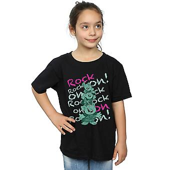 Disney Girls Frozen Trolls Rock On T-Shirt