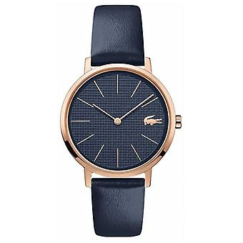 Lacoste | Women's Moon | Blue Leather Strap | Blue Dial | 2001071 Watch