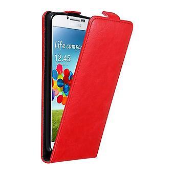 Cadorabo Case voor Samsung Galaxy S4 gevaldekking-telefoon geval in flip ontwerp met magnetische sluiting-Case cover geval geval geval boek vouwen stijl