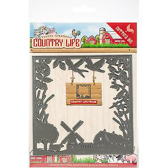 Find It Trading Yvonne Creations Die-Frame, Country Life