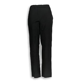 Isaac Mizrahi Live! Women's Pants 24/7 Stretch Black A302696