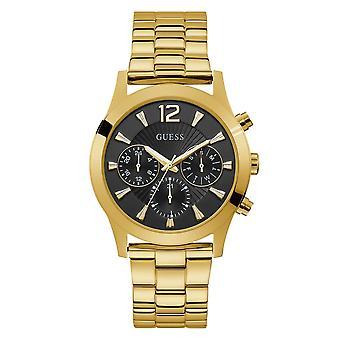 Guess W1295L2 Frauen's Skylar Gold Ton Armbanduhr