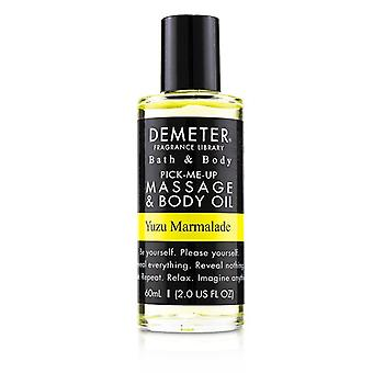 Demeter Yuzu Marmalade Massage & Body Oil 60ml/2oz