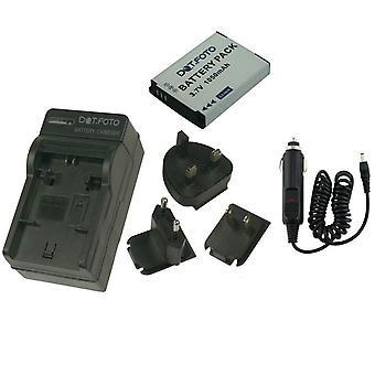Dot.Foto JVC BN-VH105 - 3,7 v / 1050mAh batteri og batteriets reise avgift