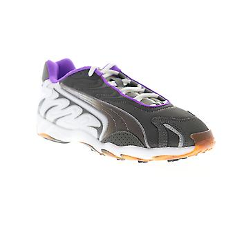 Puma Inhale Flares  Mens Gray Mesh Lace Up Low Top Sneakers Shoes