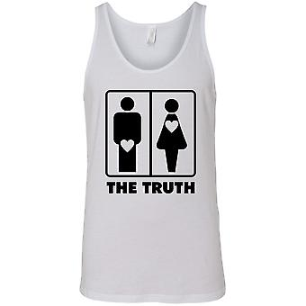 F1276PX - Men's The Truth About Men & Women Tank Top